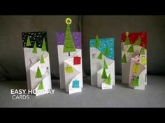 Easy Holiday Cards | krokotak