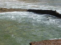 Terrigal Rock Pool on NSW Central Coast - go at high tide for any chance of a swim