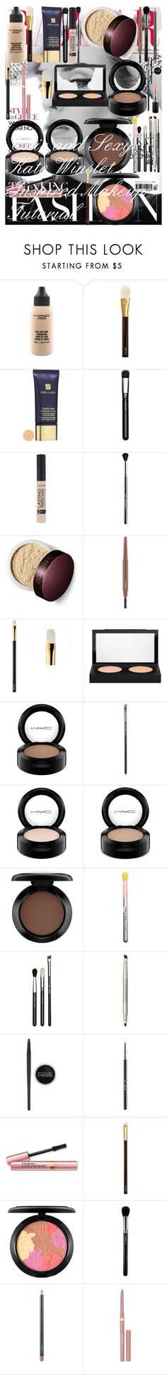 """Chic and Sexy Kate Winslet Inspired Makeup Tutorial"" by oroartye-1 on Polyvore featuring beauty, MAC Cosmetics, Tom Ford, Estée Lauder, Sigma, Ilia, Maybelline, L'Oréal Paris and Stila"
