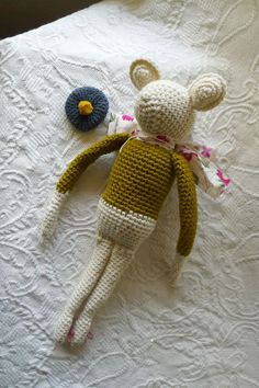 Wescott the Mouse by Sweetnellie on Etsy, $38.00