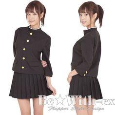 コスプレ 衣装 レディース☆仮装 制服 学ラン 女番長 A0618BK_画像1