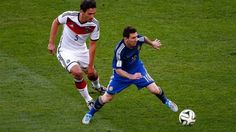 Matt Hummels and Lionel Messi