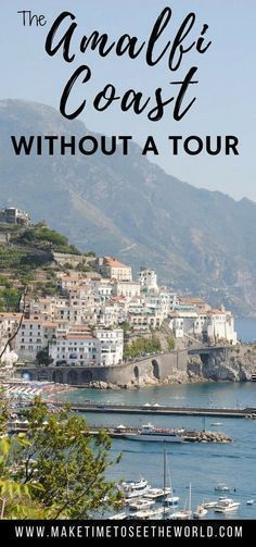 Plan your own DIY Amalfi Coast Tour to Positano, Amalfi & Ravello including how to get there, where to stay and where to eat in each village. Travel in Italy. #diytravel #travelinitaly