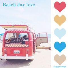 Beach day love
