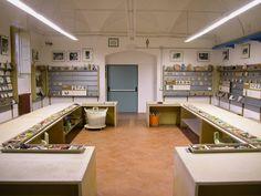 """il laboratorio didattico """"giocare con l'Arte"""" fondato da Bruno Munari negli anni settanta"""