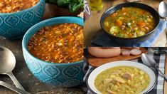 Strukovinové polievky na mrazivé dni | Recepty.sk Ethnic Recipes, Food, Essen, Meals, Yemek, Eten