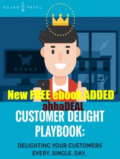 New REE Ebook has added - New #Ebook called CUSTOMER DELIGHT PLAYBOOK: DELIGHTING YOUR CUSTOMERS EVERY. SINGLE. DAY. [EBOOK]. You can visit #ahhaDEAL to read about this ebook for FREE.