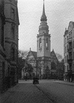 Köln Südstadt, ca 1925, Lutherkirche