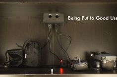 The Anywhere Outlet : 7 Steps (with Pictures) - Instructables Best Desk Lamp, Electrical Outlets, Small Apartments, Diy, Pictures, Photos, Bricolage, Tiny Apartments, Photo Illustration