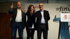 VORO SOLER, ANA BOTELLA Y FERNANDO OLIVEROS MITIN GODELLA 16D