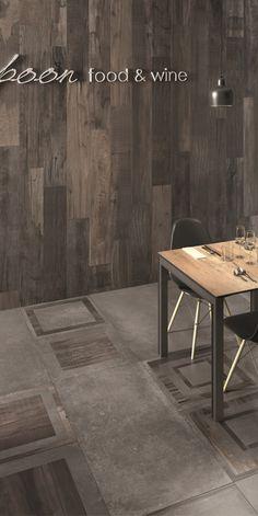 Pavimenti e rivestimenti in gres effetto legno ABK: Dolphin, wood and colours