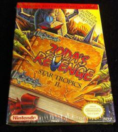 Zoda's Revenge: StarTropics II 2 Nintendo NES Game *Factory Sealed*