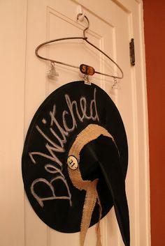 bewitched door decor