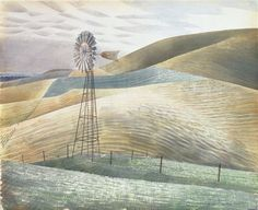 James Russell: Familiar Visions: Eric Ravilious & the Sussex Downs David Hockney, Sussex Downs, Magic Realism, Landscape Paintings, Landscapes, Landscape Art, Watercolor Paintings, Landscape Prints, Watercolours