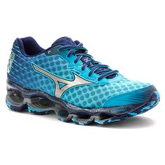 Mizuno Wave® Prophecy 4 | Women's - Blue Atoll/Silver/Blue Depths