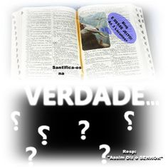 """É DESSE JEITO !: Assim Diz o SENHOR: """"Na VERDADE"""" (As 3 Lacunas+)  ..."""