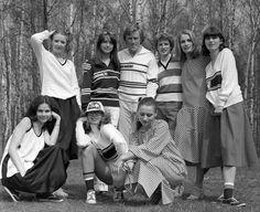 Kolekcja dzianiny Grażyna Hase The Past, Hair Beauty, Couple Photos, Couples, Polish, Postcards, Vintage, Fashion, Bunny