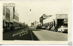 El Centro, 1940s