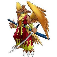 Buraimon - Champion level Bird Man digimon