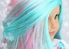 Beautifully Custom Exclusive Wigs for Custom American Girl Dolls