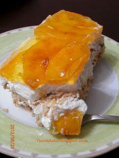Greek Sweets, Greek Desserts, Party Desserts, Summer Desserts, Greek Recipes, Dessert Recipes, Greek Cake, Greek Cooking, Sweets Cake