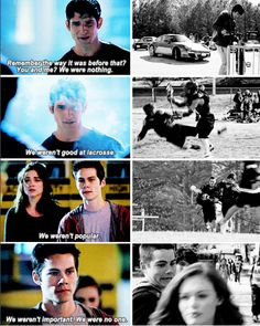 teen wolf - sciles<<This is one of the most heart-wrenching scenes, but a favorite. Sciles broship is everything to this show.