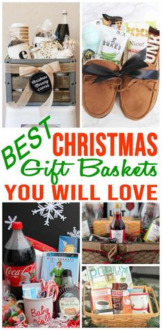 Easy DIY Christmas Gift Basket Ideas For Family - Friends - Couples - Kids - Co-Workers - Teachers - Men & Women! Cheap & Creative Holiday Ideas That Will Be Loved By All! ideas for family DIY Christmas Gift Baskets Best Christmas Gift Baskets, Diy Christmas Gifts For Friends, Cheap Christmas Gifts, Homemade Christmas Gifts, Christmas Fun, Christmas Morning, Christmas Presents For Couples, Man Christmas Gift Ideas, Best Christmas Gifts 2018