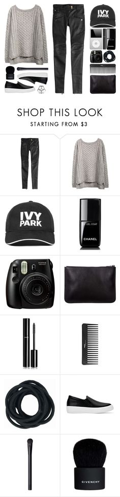 """//I can see the stars all the way from here//"" by the-key-to-my-heart ❤ liked on Polyvore featuring Balmain, Ivy Park, Chanel, Fujifilm, Sephora Collection, NARS Cosmetics, Givenchy and HomArt"