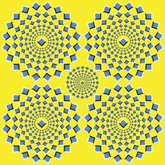 Remember, none of these images are actually moving. | 10 Awesome Optical Illusions That Will Melt Your Brain