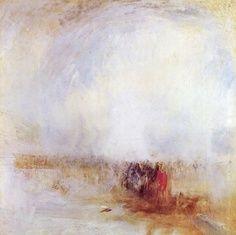 Joseph Mallord William Turner - Venetian Scene, 1840-50