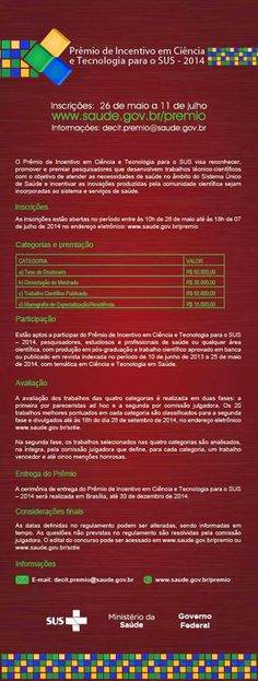 Blog do Sérgio: Prêmio de Incentivo em Ciência e Tecnologia para o...