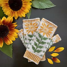 25% discount using coupon code Sunflowertime for Lucky sunflower mitts and socks until 16th August.