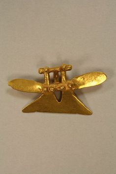 Eagle Pendant 8th–16th century Geography: Costa Rica Culture: Atlantic Watershed Medium: Gold