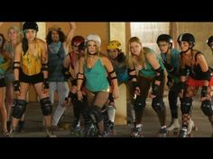 Sarah & The Meanies - Slam Pam Suno - Official Video - Roller Derby