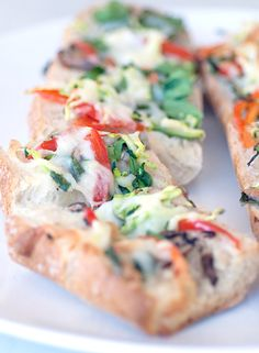 Spring Vegetables Elevate This Easy Garlic Bread-Visit our website at http://www.oldtowngym.com for a FREE TRIAL PASS