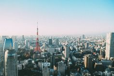 Tokyo as viewed from one of the rooms at Andaz Tokyo Toranomon Hills  #Tokyo #Japan #Skyline