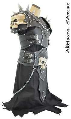 Necromancer Armor by ArtisansdAzure on Etsy, $1270.00