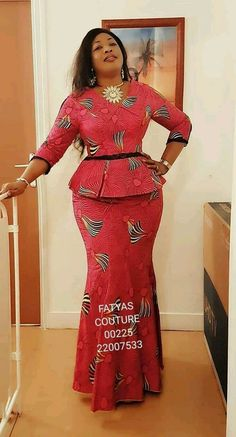 New, Fresh and Trendy Ankara styles - African Fashion Dresses African Fashion Designers, Latest African Fashion Dresses, African Print Dresses, African Dresses For Women, African Print Fashion, African Attire, Africa Fashion, African Prints, African American Fashion