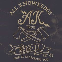 All Knowledge Clothing - New T - Shirt layout design for the summer. This will be getting printed shortly next week! Hope you like the message • Seek it • For it is Seeking You •  Seek Knowledge & Grow Strong!