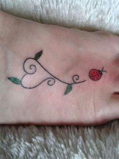 1000 images about ink me on pinterest ladybug tattoos for Ladybug heart tattoos