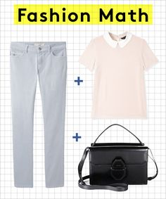 Love this outfit, wish i could pull off the other looks in this slideshow too! Fashion Math: The Ladylike Edition #refinery29