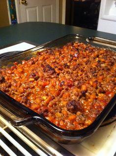 Cowboy Baked Beans on Pinterest | Cowboy Beans, Baked Bean Recipes and ...