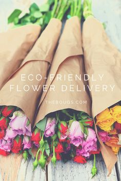 The Bouqs are fresh flowers cut when you order.