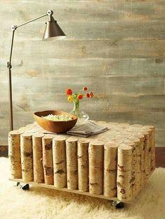 Ein Etwas Anderer Wohnzimmer Tisch Aus Birken Holz