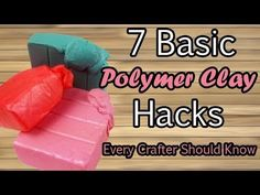 Don't forget to subscribe for weekly videos (⊙ヮ⊙) Here are some basic, but important things every polymer clay artist should know. Remember to Like and Share...