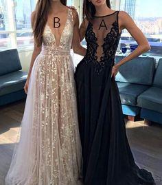 Sexy Black Prom Dress - Bateau Sleeveless Sweep Train with Appliques Beading