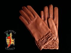 Brown lambskin leather women winter gloves - cashmere lining - size 7.5-ZAVALITA #THEPEPPERGLOVES #EverydayGloves Winter Gloves, Lambskin Leather, Mittens, Cashmere, Brown, Collection, Fingerless Mitts, Cashmere Wool, Fingerless Mittens