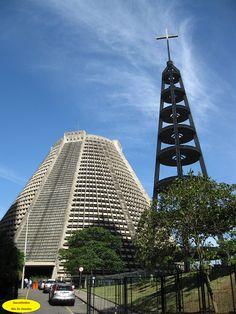 São Sebastião Catedral de São Sebastião do Rio de Janeiro no centro da cidade do Rio de Janeiro.