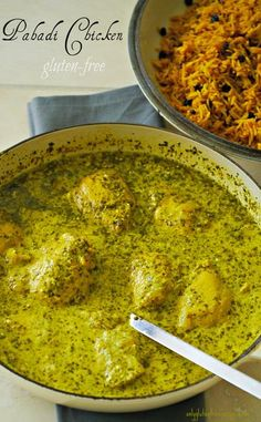 PAHADI CHICKEN ~ This is a modern version of Indian pahadi (Pahari) chicken. The term pahadi originates from Pahad meaning mountain. Food in India varies depending on the region. This chicken recipe is truly outstanding, not your typical curry recipe. Serve with one of our rice dishes.