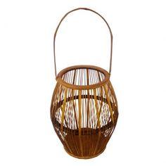 Lanterna Bambú Amarela